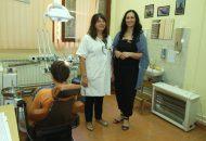 Tekijanka, Donacija za stomatologiju, dr Dusica Josifovic i Danijela Caranovic
